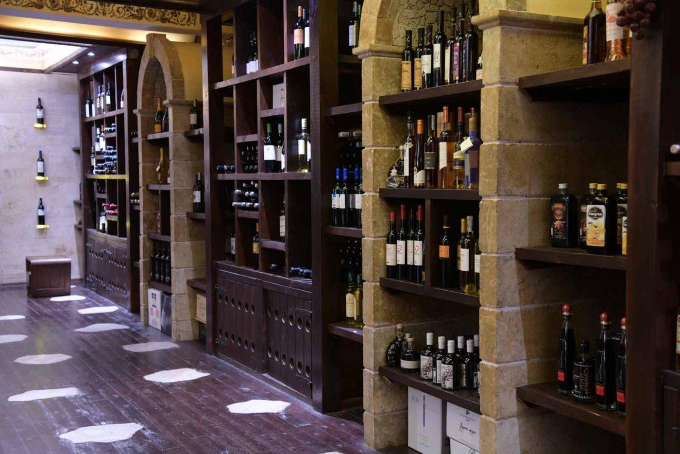 Cava Idea wine cellar