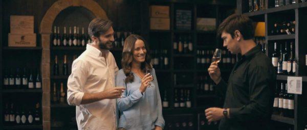 A sensory wine experience