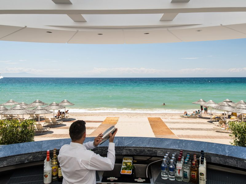 Beach Bar Sea view