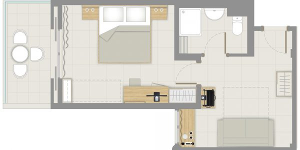 Floor-plan Family Deluxe