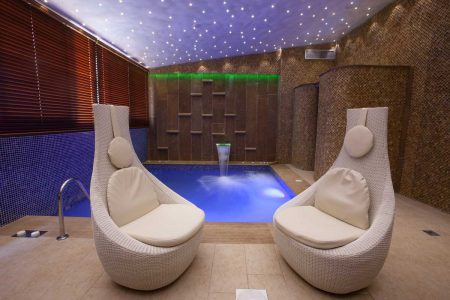 Spa Indoor Pool area